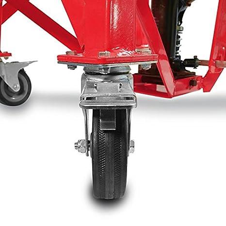 Caballete Elevador ConStands Moto Cross Mover Lift XL rojo para BMW G 450 X: Amazon.es: Coche y moto