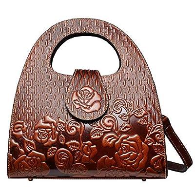 PIJUSHI Designer Handbags For Women Top Handle Satchel Bags Leather Handbag