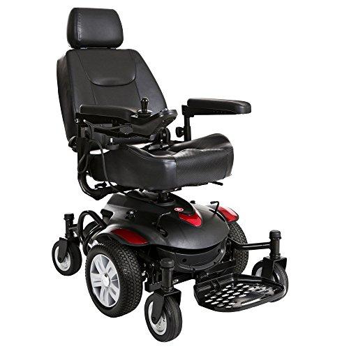Drive Medical Titan AXS Mid-Wheel Power Wheelchair 20