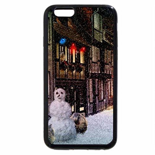 iPhone 6S / iPhone 6 Case (Black) christmas_village