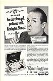 Best Prints Prints Prints Electric Shavers - Print Ad 1948 Remington Electric Shavers Review