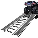 "90"" Caliber Ramp PRO Snowmobile ATV Loading Ramp with Stu..."