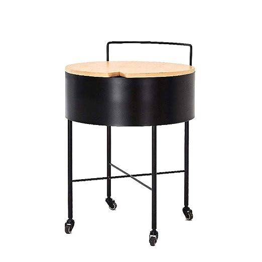 BEANCHEN Mesa, pequeñas y Redondas Mesa de café for la Sala Sitio ...