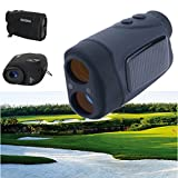 HITSAN BOSMA 6x25 Solar Energy Golf Laser Rangefinder Portable Waterproof 600M Distance Measure Telescope One Piece