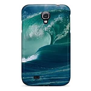 VziYytk2139mFMvm Tpu Case Skin Protector For Galaxy S4 Landscape Ocean Waves Nature With Nice Appearance