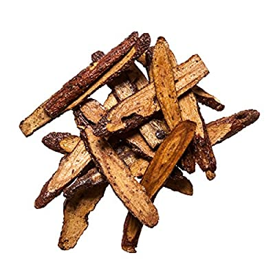 Licorice Root | Gan Cao Zhi Chinese Herb | Glycyrrhiza Uralensis Preparata- Suitable to Tonify Qi - #1 Pure, Medicinal Grade Chinese Herb 1 Oz - Plum Dragon Herbs : Garden & Outdoor