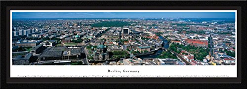 Blakeway Worldwide Panoramas Berlin, Germany - Blakeway Panoramas Skyline Posters with Select Frame Single ()