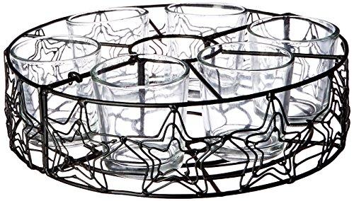 Park Designs Black Star Umbrella Stand 6 Votive Holder by Park Designs (Image #1)