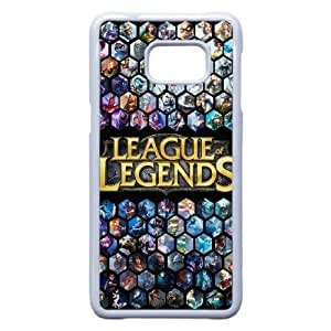 Plastic Durable Cover Samsung Galaxy Note 5 Edge Cell Phone Case White Zhnmy Game League Of Legends Durable Phone Case