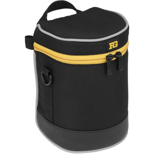 Ruggard Lens Case 6.0 x 3.5'' (Black)(6 Pack) by Ruggard