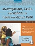 Investigations, Tasks, and Rubrics to Teach and Assess Math, Grades 1-6, Pat Lilburn and Alex Ciurak, 1935099140