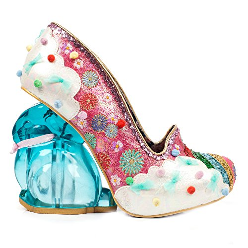 Heel Collectable Pink Rainbunny Unique Choice Shoes Irregular Rabbit Rainbow p644qw