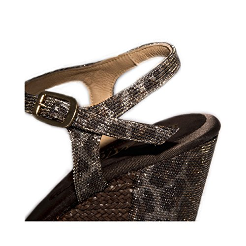 Modèle Espadrille Mtbali Vegas Sandales Las Femme Mtbali Compensées Compensées Sandales Multicouleur Espadrille WYWp0A