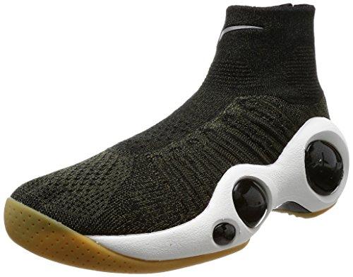 Nike Men's Flight Bonafide Basketball Shoe 11.5 Green (One Nike Flight Basketball)
