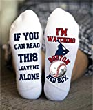 Boston Red Sox Socks Funny Birthday Gift Baseball Team Game