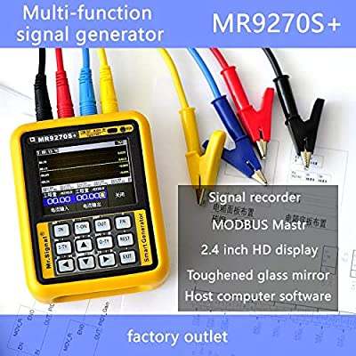 Upgraded MR9270S+ 4-20mA Signal Generator Calibration Current Voltage PT100 Thermocouple Pressure Transmitter PID Frequency