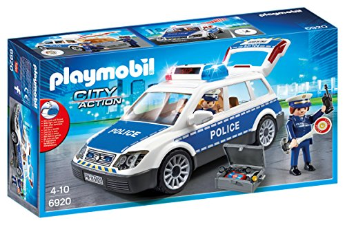 (PLAYMOBIL® 6920 City Action Police Squad Car with Lights and Sound)