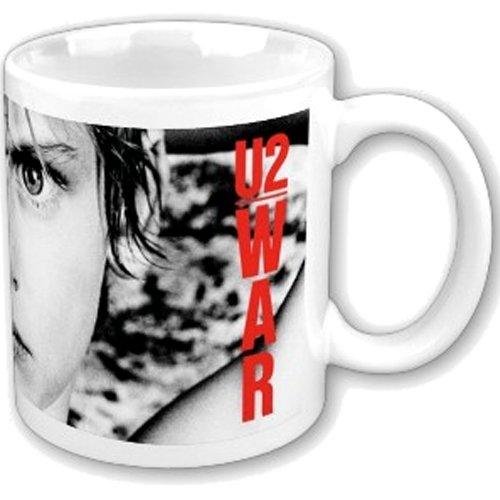 U2 Mug, War Album Cover