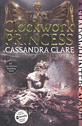 Book cover for Clockwork Princess