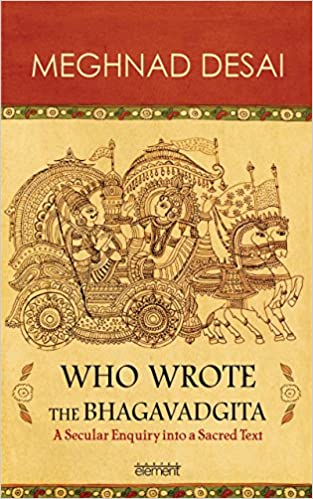 amazon com who wrote the bhagavadgita 9789351361657 meghnad