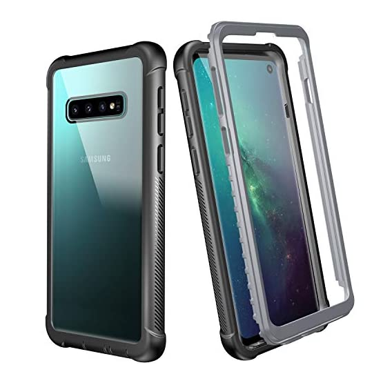 3eba42ca0ac8e6 Justcool Samsung Galaxy S10 Case 6.1 Inch Without Built-in Screen ...