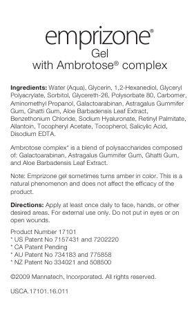 Mannatech Emprizone,ambrotose Complex,aloe Vera Gel
