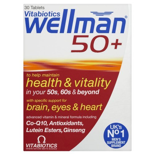 Wellman Vitabiotics 50+ Advanced Vitamin And Mineral Supplement 30 Tablets