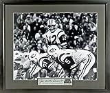NY Jets Joe Namath Super Bowl III 11x14 Photograph (SGA Signature Engraved Plate Series) Framed