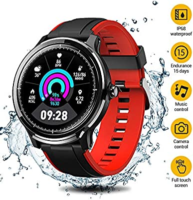 SmartWatch,Reloj Inteligente Impermeable IP68,Bluetooth Relojes ...