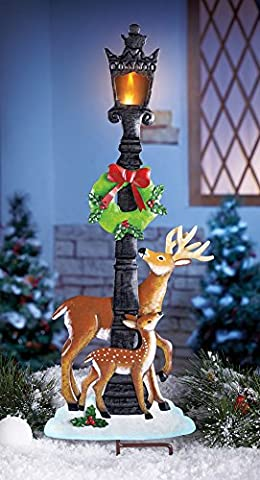 Outdoor Christmas Yard Stakes At WellGroomedManScape Outdoor
