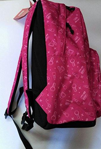0325b7ea59 ZAINO INVICTA - OLLIE PACK FACE - Rosa fantasia kiss - tasca porta pc  padded -
