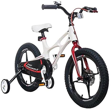 ligera Bicicleta infantil Space Shuttle de 41 cm marco de magnesio estabilizadores con ruedines y pata de apoyo