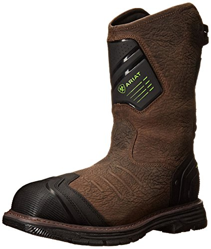 - ARIAT Men's Catalyst Vx Waterproof Composite Toe Work Boot Bruin Brown Size 11 Ee/Wide Us