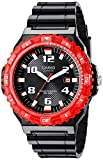 Casio Men's MRW-S300H-4BVCF Tough Solar Watch With Black Resin Band