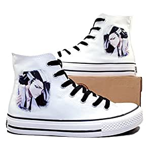 Bleach Kuchiki Byakuya Cosplay Shoes Canvas Shoes Casual Shoes Sneakers