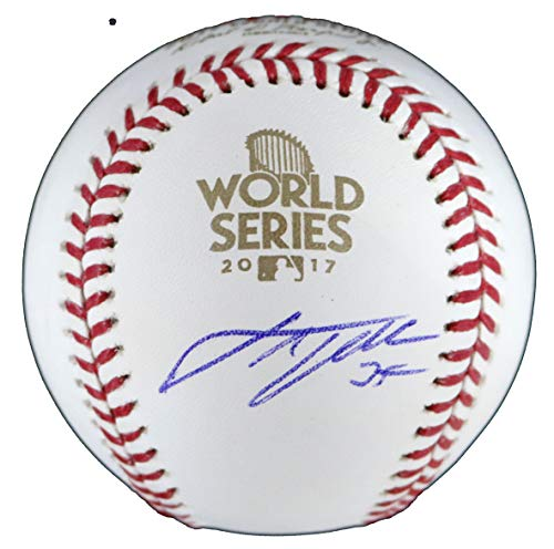 Justin Verlander Houston Astros Signed Autographed Rawlings 2017 World Series Official Baseball - Autographed Official World Baseball Series