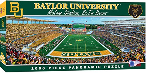 - MasterPieces Collegiate Baylor Bears 1000 Piece Stadium Panoramic Jigsaw Puzzle