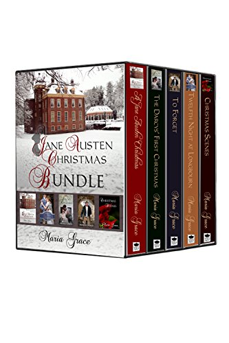A Jane Austen Christmas Bundle: A bundle of Regency Christmas traditions, history and fiction, (Christmas Traditions Kingdom United)