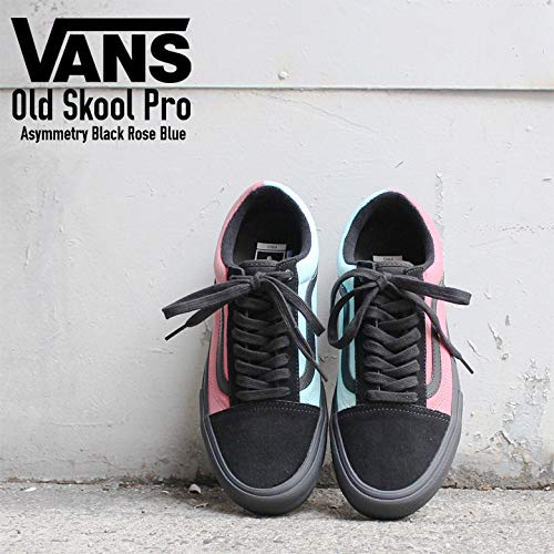 fb2ffd952d50 Vans - Sneakers - Old Skool Pro Asymmetry - Black Rose Blue (9.5 UK)   Amazon.co.uk  Shoes   Bags