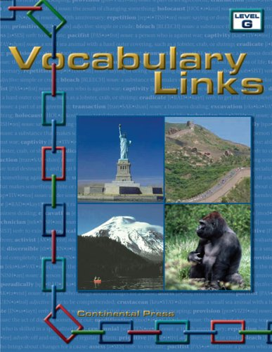 Vocabulary Workbook: Vocabulary Links, Level G -7th Grade