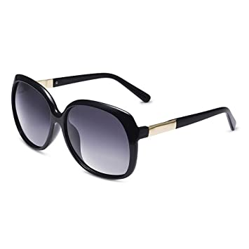 c471a9194c Gafas Gafas de sol polarizadas de la señora de la manera Lentes anti-UV TAC  ( Color : Gray ): Amazon.es: Jardín