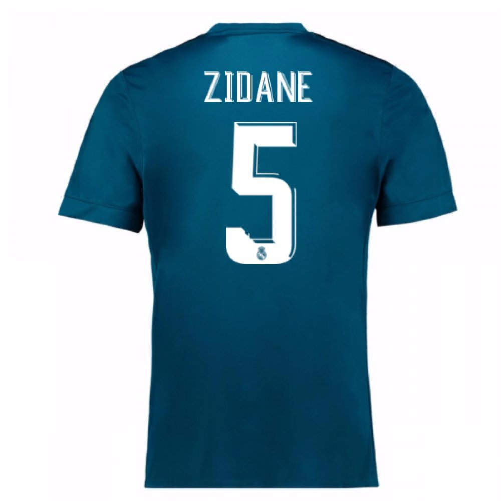 2017-18 Real Madrid Third Shirt (Zidane 5) Kids B076Q2QTDZ