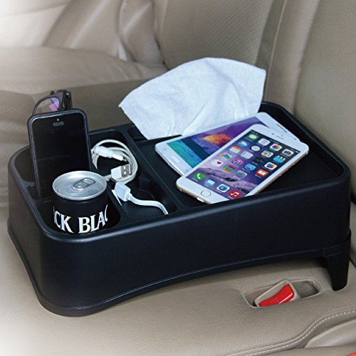TIROL® Travel Food Holder and Tray Car Seat Tray Stand Organizer (Rear Seat Cup Holder compare prices)