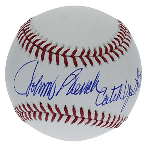 Johnny Bench Cincinnati Reds Autographed Signed Rawlings Official Major League Baseball - 'Catch Ya Later' Inscription - PSA/DNA Authentic