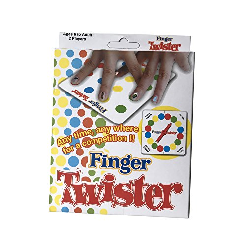 USUNO Funny Finger Twister Game Party Games Board Game Novelty Toy Gift for Picnic Outdoor Office Home and Travel