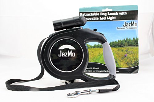 Retractable Leash safety 110lbs JazMo