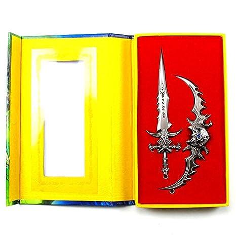 WOW Frostmourne de la espada llavero Illidan Llavero World ...