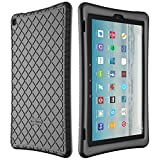 Bear Motion Silicone Case for Fire HD 10 2017 - Anti Slip Shockproof Light Weight Kids Friendly Protective Case for All-New Fire HD 10 Tablet with Alexa (2017 Model) (Fire HD 10 2017, Green)