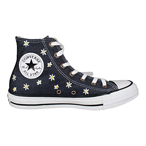 Converse Dames Chuck Taylor Alle Ster Hi Canvas Trainers Blauw