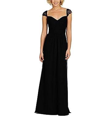WANNISHA Women Evening Gown Chiffon Prom Dress Cheap Bridesmaid Dress Long